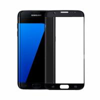 Стъклен протектор Mocoson Nano Flexible, за Samsung Galaxy S7 Edge, 5D, 0.3 mm, Черен